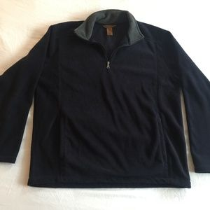 Mens St. John's Bay 1/4 Zip Fleece Pullover